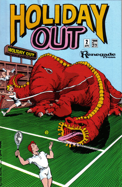 Cover for Holiday Out (Renegade Press, 1987 series) #2