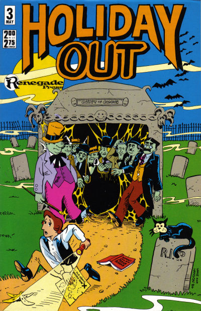 Cover for Holiday Out (Renegade Press, 1987 series) #3