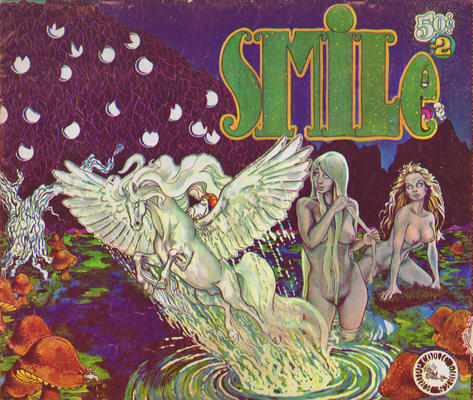 Cover for Smile (Kitchen Sink Press, 1970 series) #2