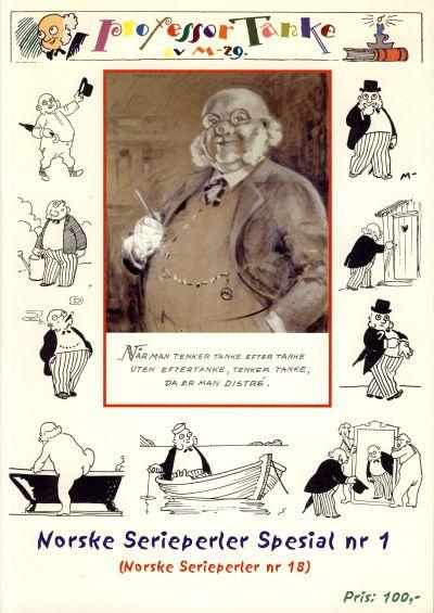 Cover for Norske Serieperler (Notem, 1996 series) #18