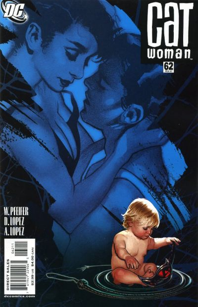 Cover for Catwoman (DC, 2002 series) #62
