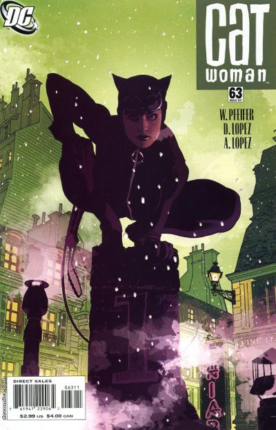 Cover for Catwoman (DC, 2002 series) #63