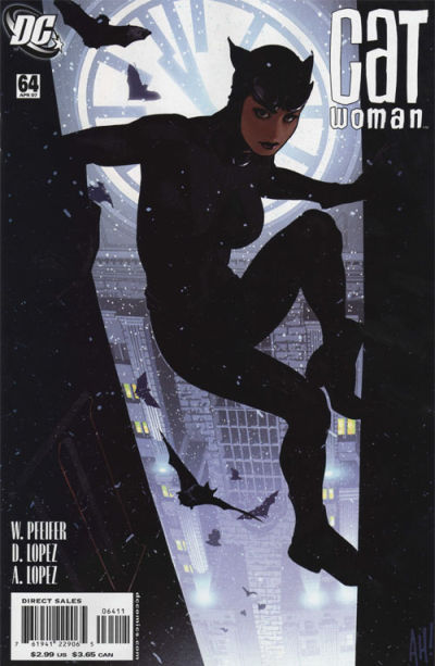 Cover for Catwoman (DC, 2002 series) #64
