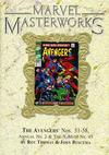 Cover Thumbnail for Marvel Masterworks: The Avengers (2003 series) #6 (70) [Limited Variant Edition]