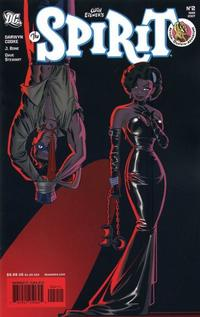 Cover Thumbnail for The Spirit (DC, 2007 series) #2
