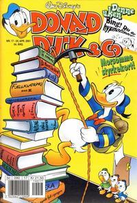 Cover Thumbnail for Donald Duck & Co (Hjemmet / Egmont, 1948 series) #17/2001