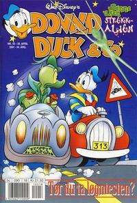 Cover Thumbnail for Donald Duck & Co (Hjemmet / Egmont, 1948 series) #18/2001