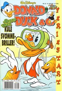Cover Thumbnail for Donald Duck & Co (Hjemmet / Egmont, 1948 series) #25/2001