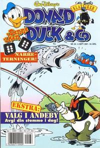 Cover Thumbnail for Donald Duck & Co (Hjemmet / Egmont, 1948 series) #36/2001