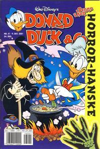 Cover Thumbnail for Donald Duck & Co (Hjemmet / Egmont, 1948 series) #41/2001