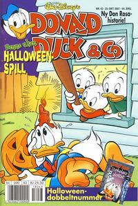 Cover Thumbnail for Donald Duck & Co (Hjemmet / Egmont, 1948 series) #43/2001
