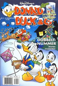 Cover Thumbnail for Donald Duck & Co (Hjemmet / Egmont, 1948 series) #51/2001