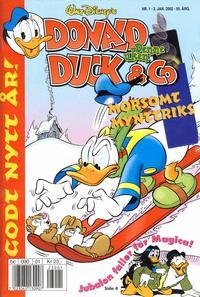 Cover Thumbnail for Donald Duck & Co (Hjemmet / Egmont, 1948 series) #1/2002