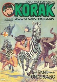 Cover Thumbnail for Korak Classics (Classics/Williams, 1966 series) #2102