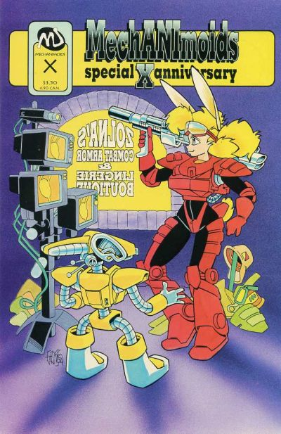Cover for Mechanimoids Special X Anniversary (MU Press, 1994 series) #1