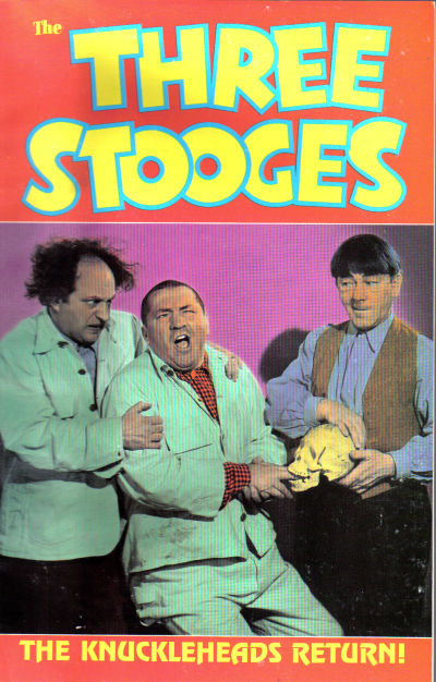 Cover for The Three Stooges (Malibu, 1989 series) #1 - The Knuckleheads Return