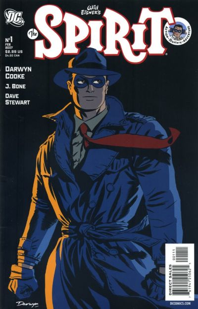 Cover for The Spirit (DC, 2007 series) #1