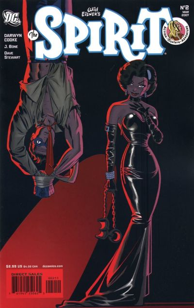 Cover for The Spirit (DC, 2007 series) #2