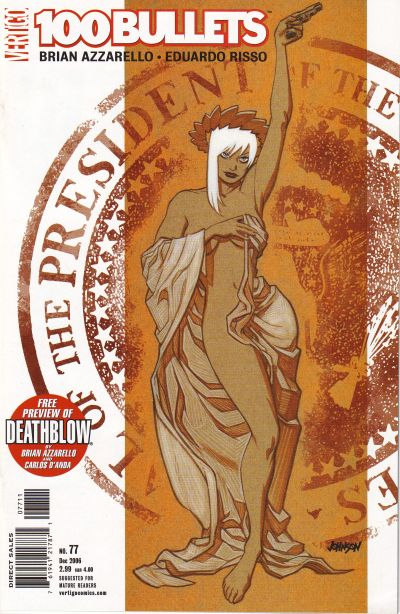 Cover for 100 Bullets (DC, 1999 series) #77