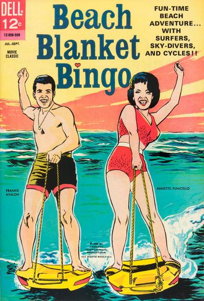 Cover for Beach Blanket Bingo (Dell, 1965 series) #[nn]