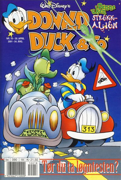 Cover for Donald Duck & Co (Hjemmet / Egmont, 1948 series) #18/2001