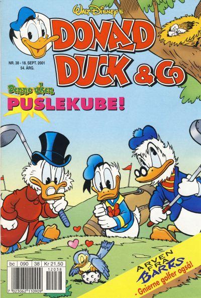 Cover for Donald Duck & Co (Hjemmet / Egmont, 1948 series) #38/2001
