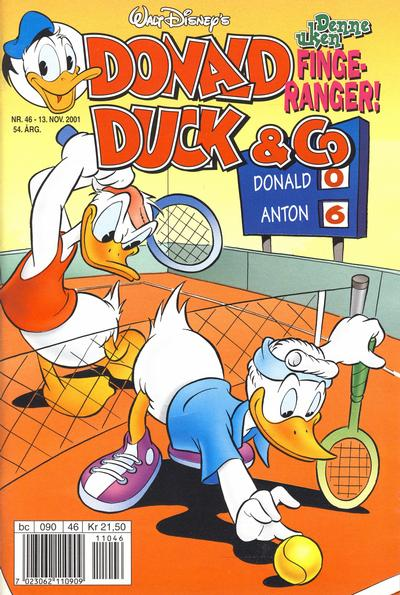 Cover for Donald Duck & Co (Hjemmet / Egmont, 1948 series) #46/2001
