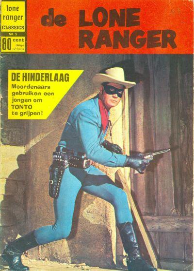 Cover for Lone Ranger Classics (Classics/Williams, 1970 series) #3