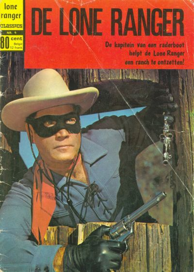 Cover for Lone Ranger Classics (Classics/Williams, 1970 series) #4