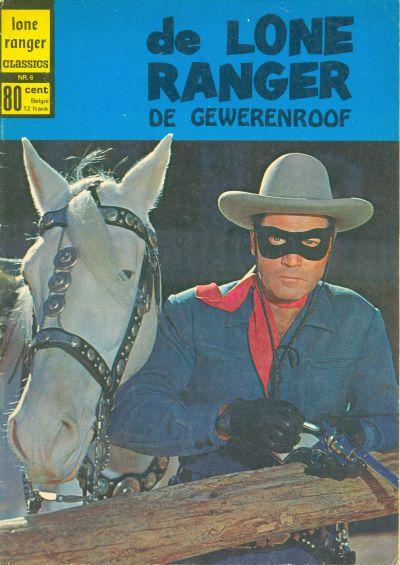 Cover for Lone Ranger Classics (Classics/Williams, 1970 series) #6