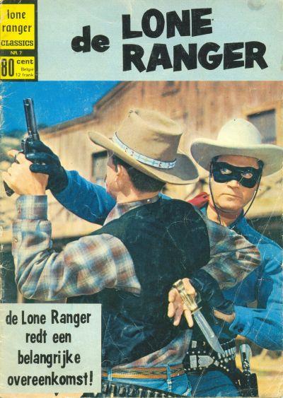 Cover for Lone Ranger Classics (Classics/Williams, 1970 series) #7