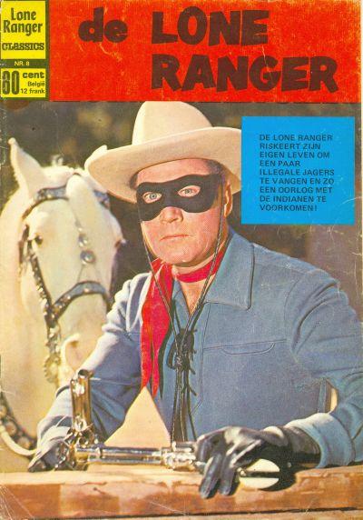 Cover for Lone Ranger Classics (Classics/Williams, 1970 series) #8