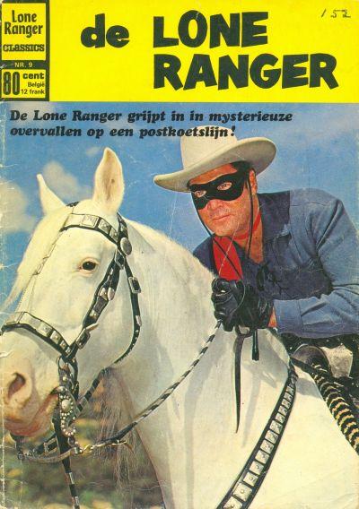 Cover for Lone Ranger Classics (Classics/Williams, 1970 series) #9