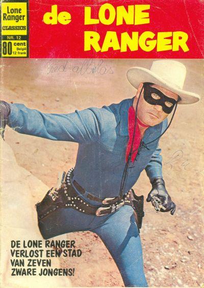 Cover for Lone Ranger Classics (Classics/Williams, 1970 series) #12