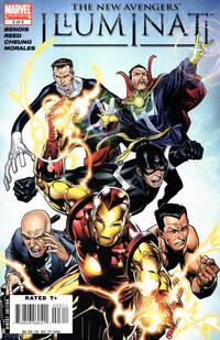 Cover Thumbnail for New Avengers: Illuminati (Marvel, 2007 series) #3