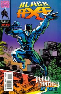 Cover for Black Axe (Marvel, 1993 series) #6