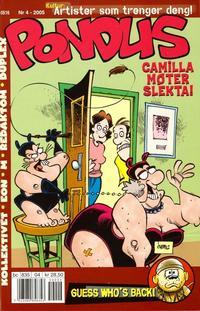Cover Thumbnail for Pondus (Bladkompaniet / Schibsted, 2000 series) #4/2005