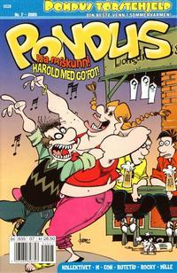 Cover Thumbnail for Pondus (Bladkompaniet / Schibsted, 2000 series) #7/2005