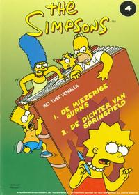 Cover Thumbnail for The Simpsons (De Stripuitgeverij/Infotex, 1994 series) #4