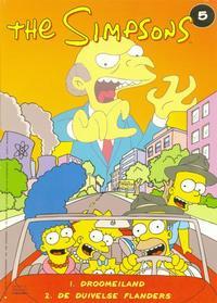 Cover Thumbnail for The Simpsons (De Stripuitgeverij/Infotex, 1994 series) #5