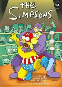 Cover Thumbnail for The Simpsons (De Stripuitgeverij/Infotex, 1994 series) #14