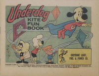 Cover Thumbnail for Underdog Kite Fun Book (Western, 1974 series) #[nn] [Cheyenne Light, Fuel & Power Co. Variant]