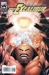 Cover Thumbnail for New Excalibur (Marvel, 2006 series) #15 [Direct Edition]