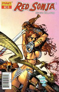 Cover Thumbnail for Red Sonja (Dynamite Entertainment, 2005 series) #16 [Eric Basldua Cover]