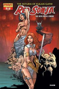 Cover Thumbnail for Red Sonja (Dynamite Entertainment, 2005 series) #17 [Mel Rubi Cover]