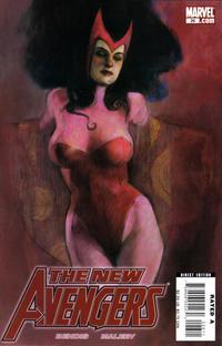 Cover Thumbnail for New Avengers (Marvel, 2005 series) #26