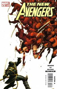 Cover Thumbnail for New Avengers (Marvel, 2005 series) #27
