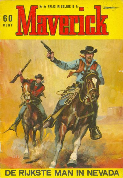 Cover for Maverick (Classics/Williams, 1964 series) #6