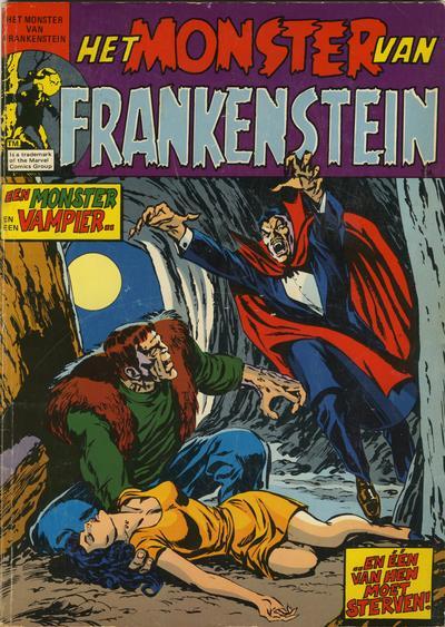 Cover for Het Monster van Frankenstein (Classics/Williams, 1975 series) #4