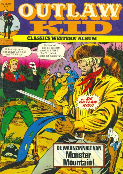Cover for Outlaw Kid Album (Classics/Williams, 1975 series) #7